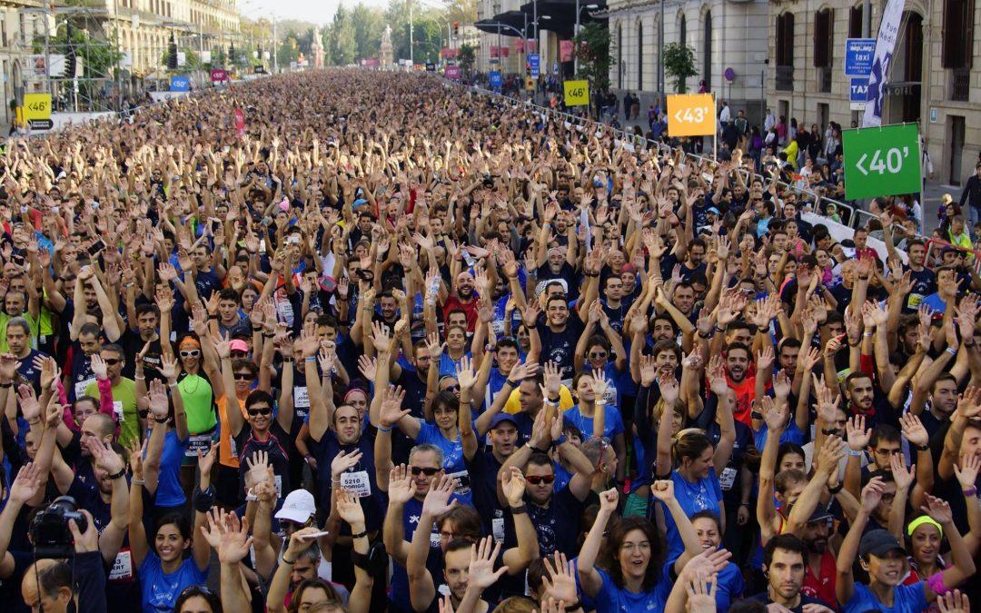 La Cursa Bombers de Barcelona torna a ser una gran festa de l'atletisme popular