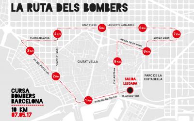 Alteraciones de tráfico Cursa Bombers 2017