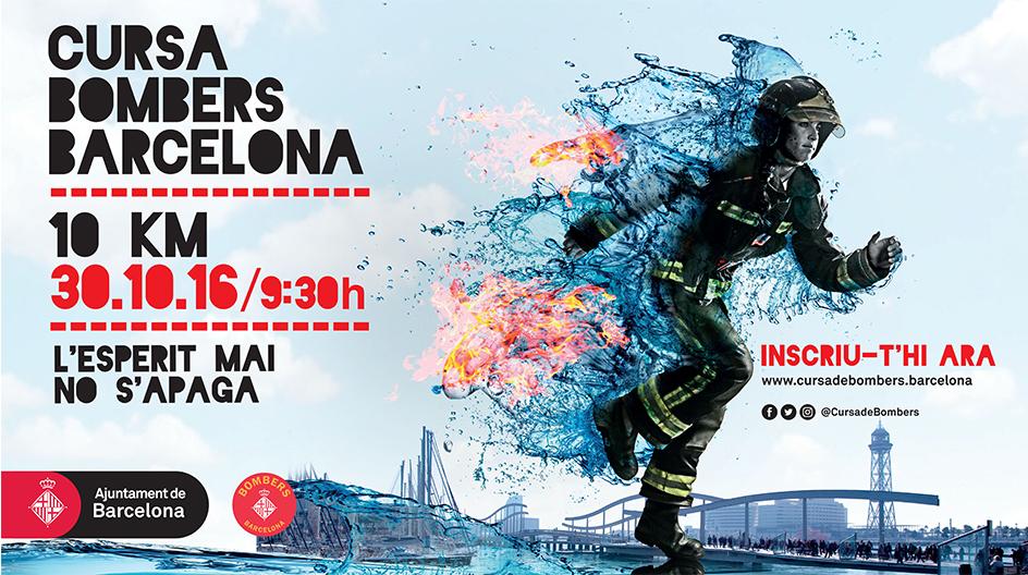 Compte enrere: un mes per la Cursa Bombers de Barcelona
