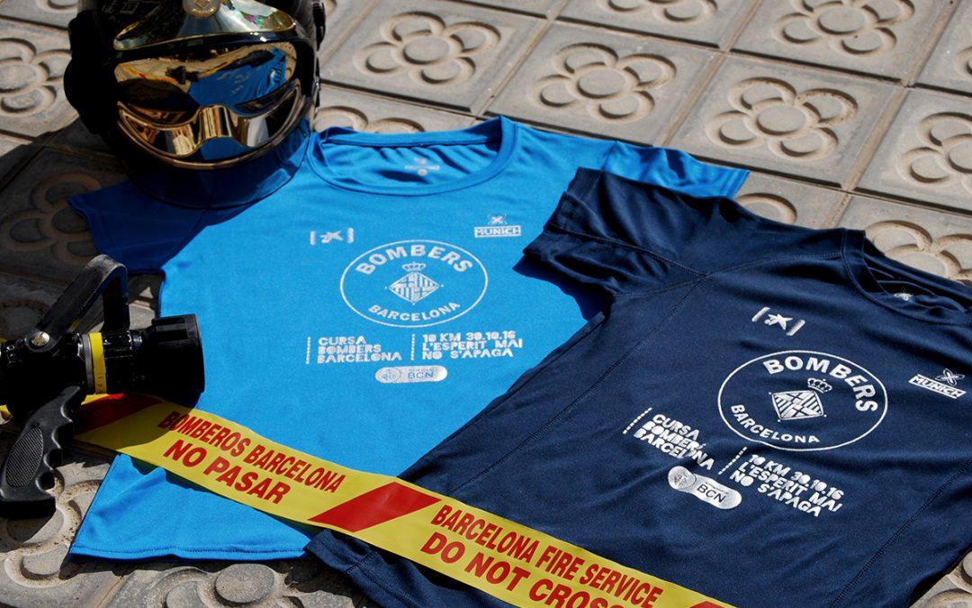 La camiseta de la Cursa Bombers 2016