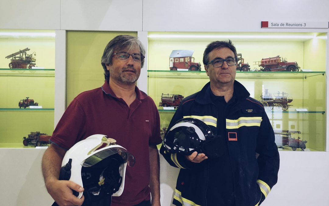 Parlem amb Manel Pardo, director de Bombers de Barcelona i Pep Ribas, bomber