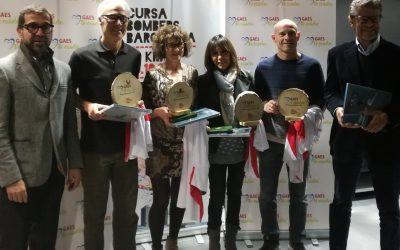 Entrega de los premios GAES Te Cuida Cursa Bombers