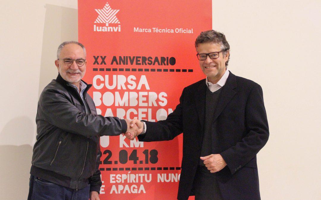 Luanvi, nuevo patrocinador técnico de la Cursa Bombers de Barcelona