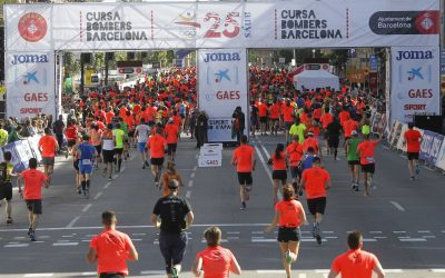 GAES segueix fidel a la Cursa Bombers de Barcelona