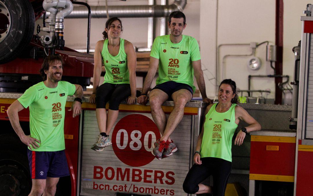 Noves samarretes runerINN Cursa Bombers de Barcelona 2018