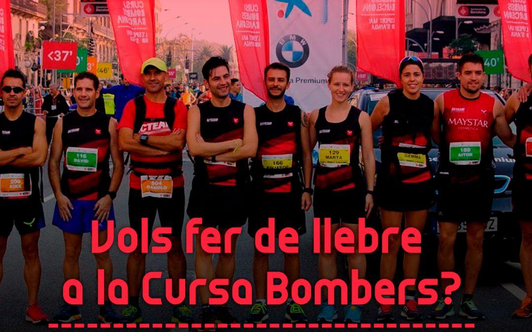 Vols ser una de les llebres de la Cursa de Bombers de Barcelona 2018?