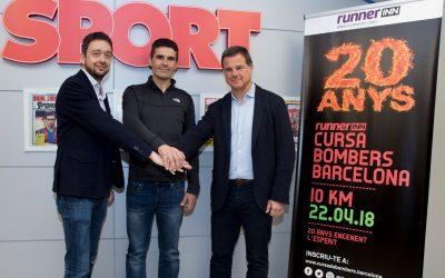 runnerINN dóna nom a la Cursa Bombers de Barcelona en el seu 20è aniversari