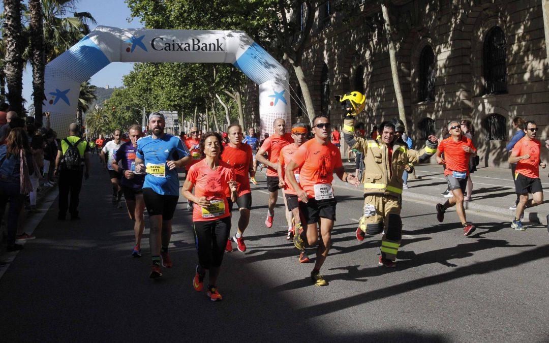 La runnerINN Cursa Bombers de Barcelona segueix amb el patrocini de CaixaBank