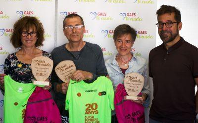 Entrega dels premis GAES Et Cuida runnerINN Cursa Bombers 2018