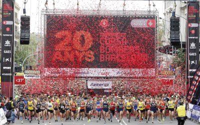 Barcelona celebra 20 anys de la runnerINN Cursa Bombers