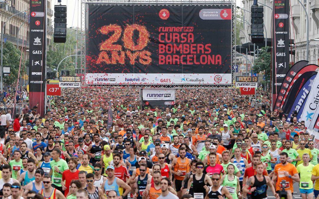 La Cursa Bombers de Barcelona vuelve el 28 de abril
