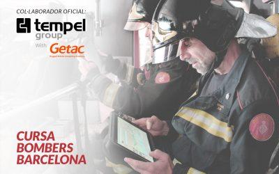 Tempel Group with Getac nou col·laborador oficial de la Cursa Bombers de Barcelona 2019