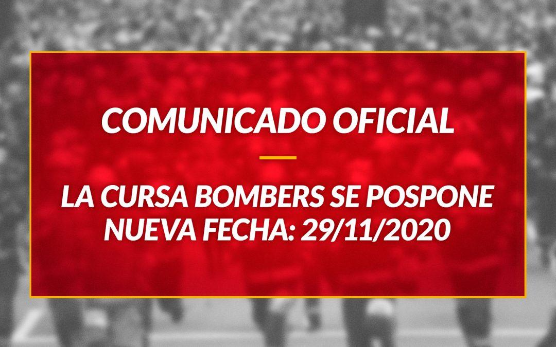 La Cursa Bombers de Barcelona se pospone al 29 de noviembre 2020