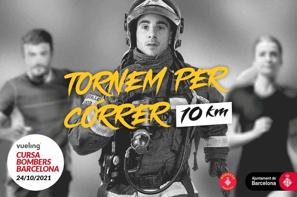 El 24 d'octubre torna la Vueling Cursa Bombers Barcelona