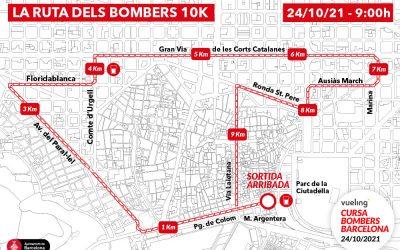 ¡Volvemos para correr! Recorrido, horarios y toda la información de la Vueling Cursa de Bombers
